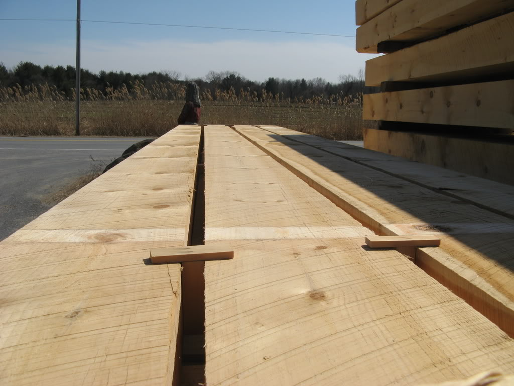Eastern White Pine Amp Hemlock Cants Mead Lumber Co Inc